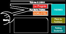Accès Dorlotel le Mont-Dore
